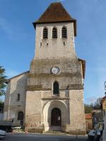 Eglise de  Vanxains  24600