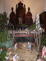 Crèche église de  Vanxains