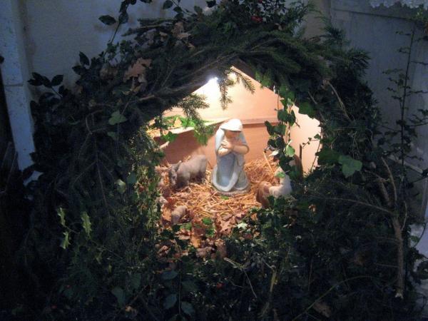 Crèche église de Festalemps